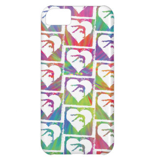 Tie Dye Gymnastics Pattern Cover For iPhone 5C