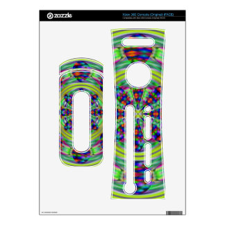 Tie Dye Hippie Kaleidoscope Swirls Xbox 360 Decal