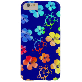 Tie Dye Honu And Hibiscus Barely There iPhone 6 Plus Case
