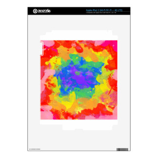 tie-dye iPad 3 decals
