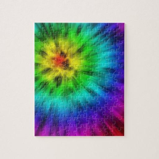 Tie Dye Jigsaw Puzzle