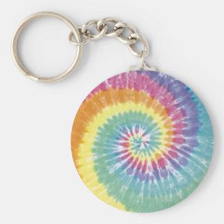 Tie-Dye Key Chains