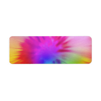 Tie Dye Label