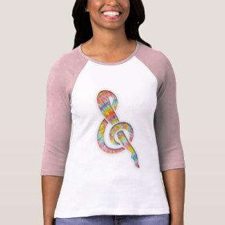 Tie-Dye Leggy Clef T-Shirt