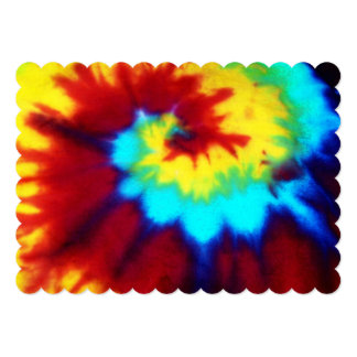 Tie Dye Look Signiture Invitations All Occation