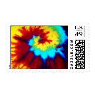Tie Dye Look Stamp