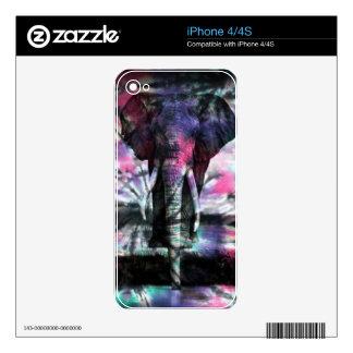 Tie-Dye Majesty iPhone 4S Decal