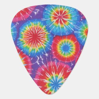 Tie Dye Masterpiece Guitar Pick