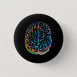 Tie Dye Mind Button