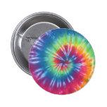 Tie Dye One 2 Inch Round Button