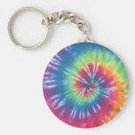 Tie Dye One Keychain
