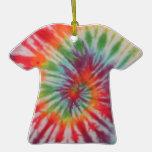 Tie Dye Ornament