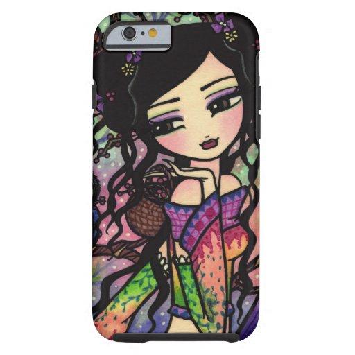 Tie Dye Owl Branches Asian Mermaid Art iPhone 6 ca iPhone 6 Case