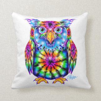 Tie Dye Owl Pillow