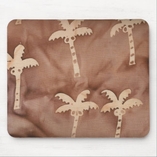 Tie Dye Palm Trees Mouse Pad