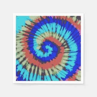 Tie Dye Paper Napkin