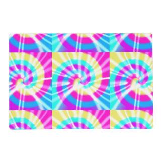 Tie Dye Pattern Placemat