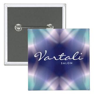 Tie Dye Pattern Vartali Square Button