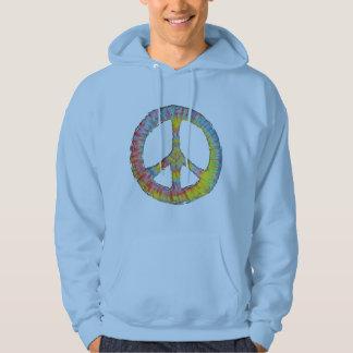 Tie-Dye Peace 713 Hooded Sweatshirt