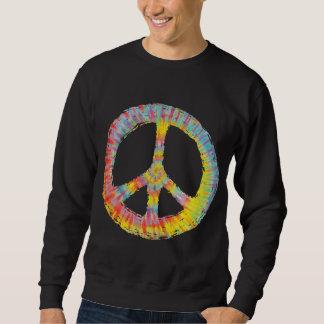 Tie-Dye Peace 713 Pullover Sweatshirt