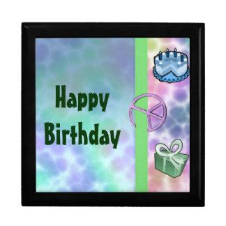 Tie Dye Peace Birthday Gift Box