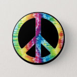 "Tie Dye Peace Sign button<br><div class=""desc"">tie dye peace sign</div>"