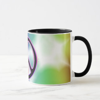 Tie Dye Peace Sign Designs Mug