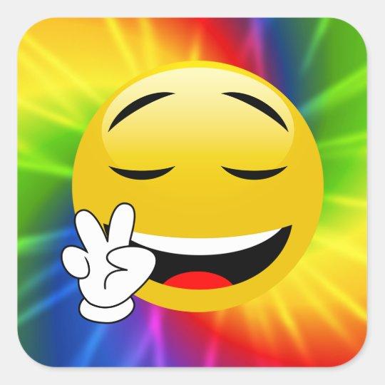 Tie Dye Peace Sign Emoji Stickers Zazzle