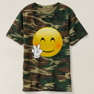 Tie-Dye Peace Sign Emoji T-shirt
