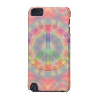 Tie Dye Peace Sign iPhone Case iPod Touch 5G Case