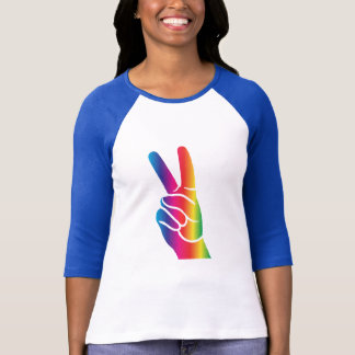 Tie-Dye Peace Sign T-Shirt