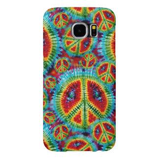 Tie Dye Peace Signs Samsung Galaxy S6 Case