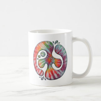 Tie-Dye Peace Spill Coffee Mug