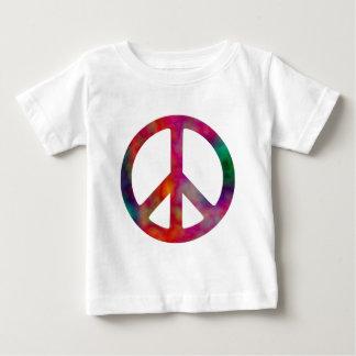 Tie Dye Peace Symbol Baby T-Shirt