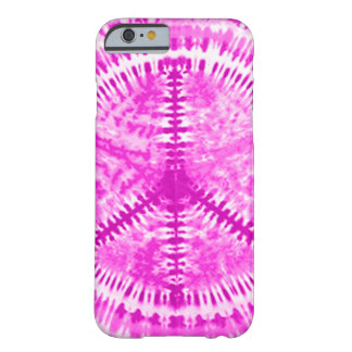 Tie Dye Pink Peace iPhone 6 case Barely There Case