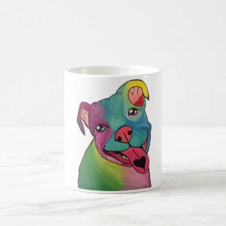 Tie Dye Pit Bull Mug
