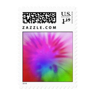 Tie-Dye Postage