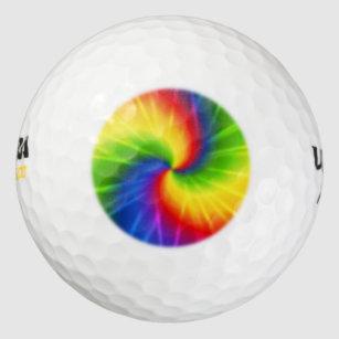 Tie Dye Golf Balls Zazzle