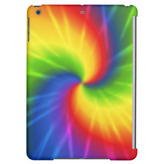 Tie Dye Rainbow Pattern iPad Air Covers