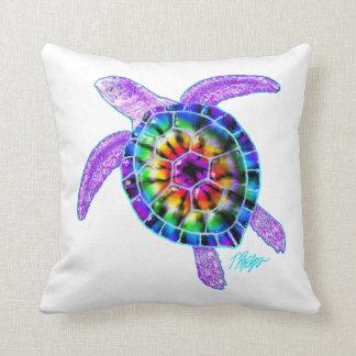 Tie Dye Sea Turtle Pillow