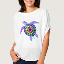 Tie Dye Sea Turtle Shirt