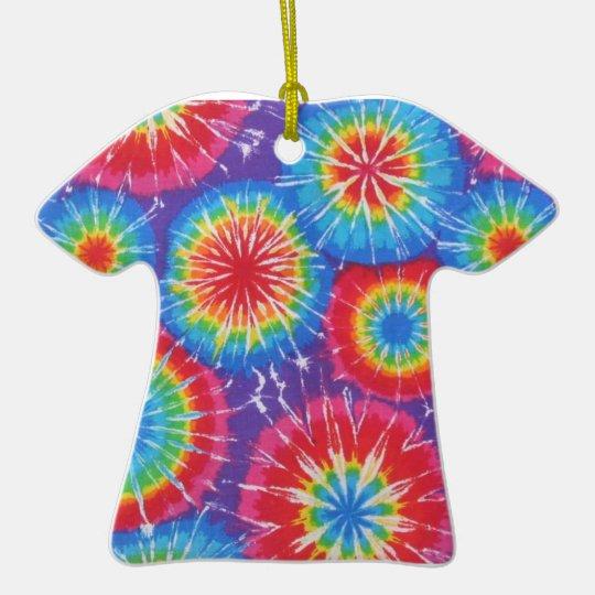 Tie Dye Shirt Ornament