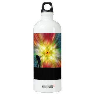 Tie Dye Silhouette Golfer SIGG Traveler 1.0L Water Bottle