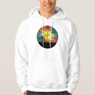 Tie Dye Silhouette Golfer Sweatshirt