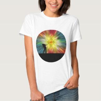 Tie Dye Silhouette Golfer T-shirts