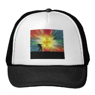 Tie Dye Silhouette Golfer Trucker Hat