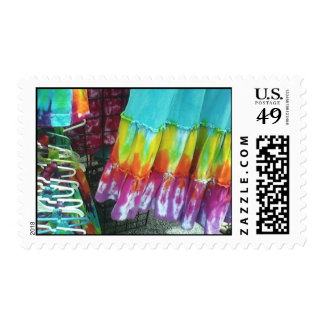 Tie dye skirt stamps