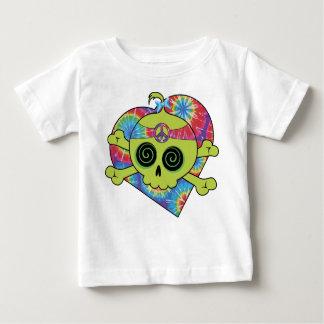 Tie Dye Skull Baby T-Shirt