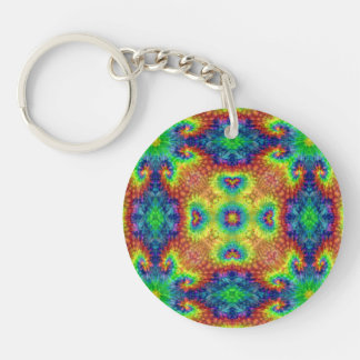 Tie Dye Sky  Acrylic Keychains, 6 styles Keychain