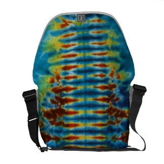 Tie Dye Spine Messenger Bag